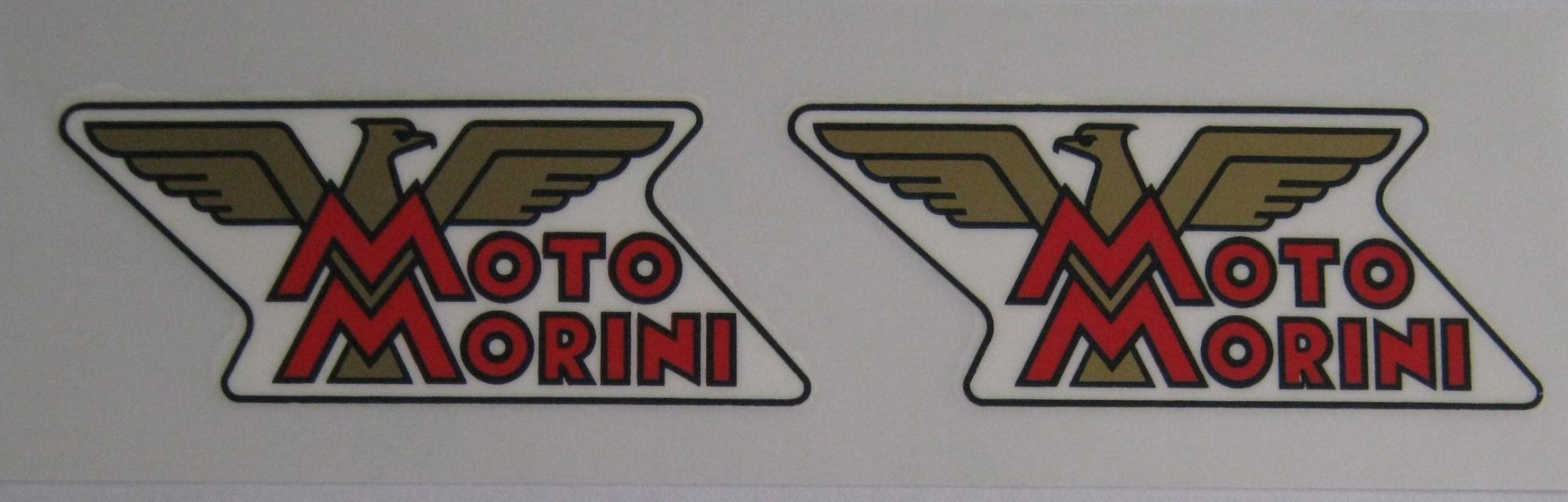 縮圖 3 - Stickers Kit Logos Motorcycle Morini 175 Tresette