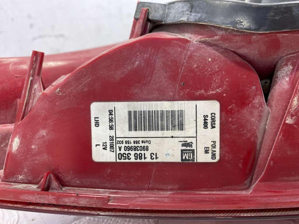 thumbnail 6 - Tail Light Left Vauxhall Corsa cod.89037367 (AP179)