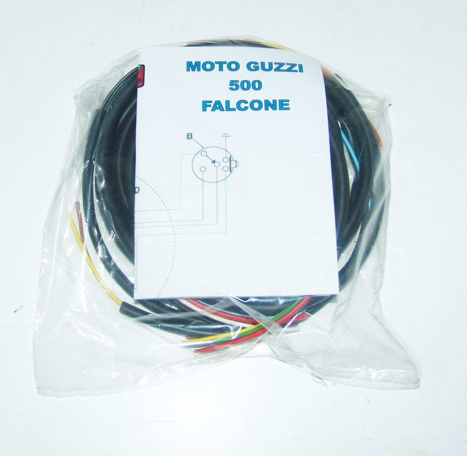 Schemi Elettrici Guzzi : Impianto elettrico electrical wiring moto guzzi falcone