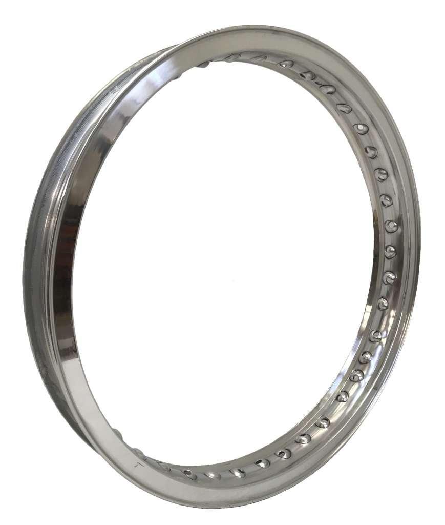 18 X 1,85 40f Cerchio Alluminio Aluminum Rim Profilo (tipo Borrani Record) In Vendita