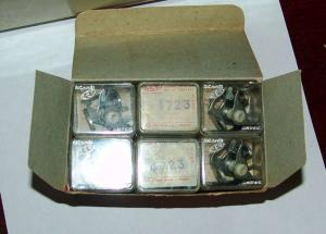 12 CONTATTI PUNTINE CONTACTS PINS N.S.U. QUICLY 49 CC C.C. 1953 1956 CEV 4723 TIPO NORIS